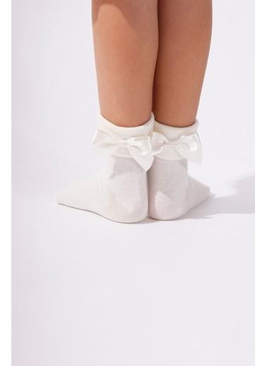 Katia & Bony Newyork Çocuk Soket Çorap  Ekru